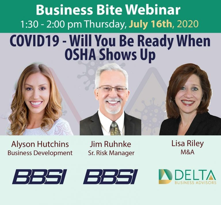 COVID19 – Will You Be Ready When OSHA Shows Up