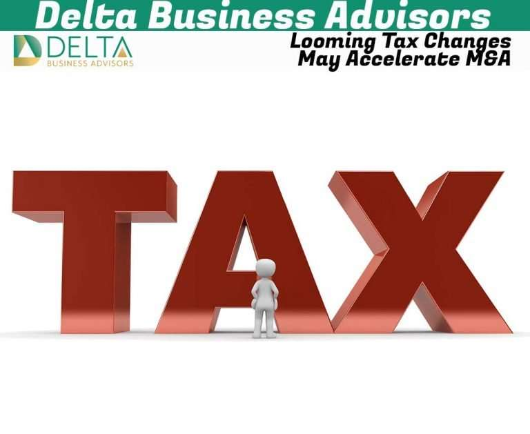 Looming Tax Changes May Accelerate M&A