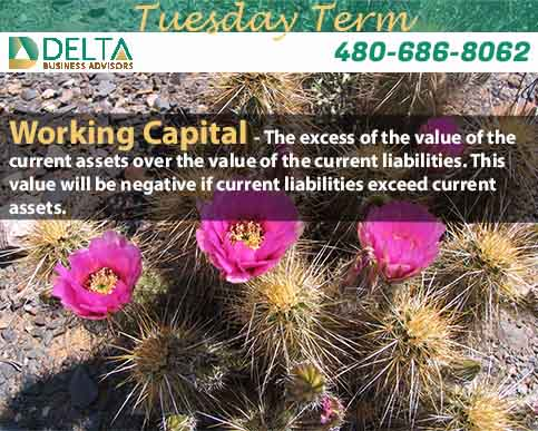 Delta Tuesday Term – Working Capital