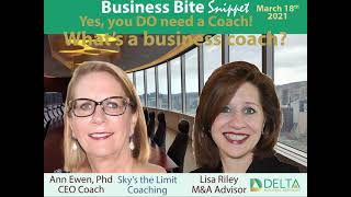 2021-03-18-02 What's a business coach?