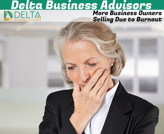 More Business Owners Selling Due to Burnout
